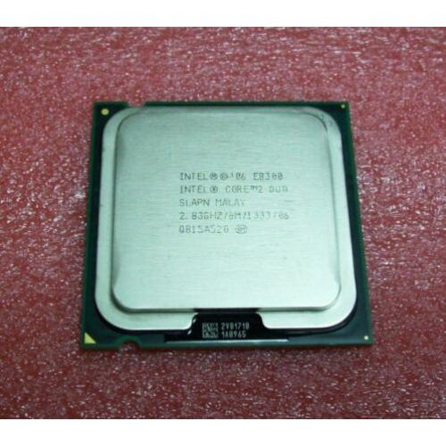Core2 Duo Intel E8300 2.83 GHz + High Grade Silver Koelpasta