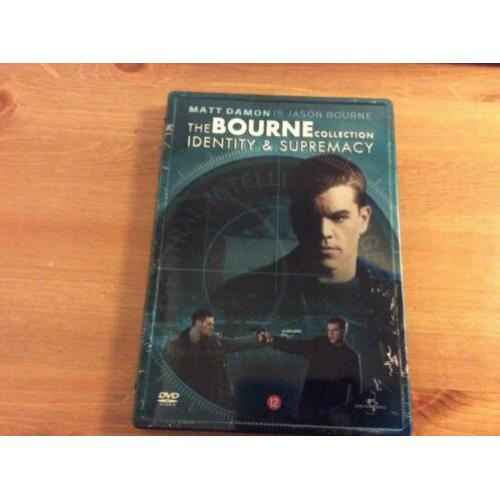 the bourne Identity&Supremacy dvd steelbox