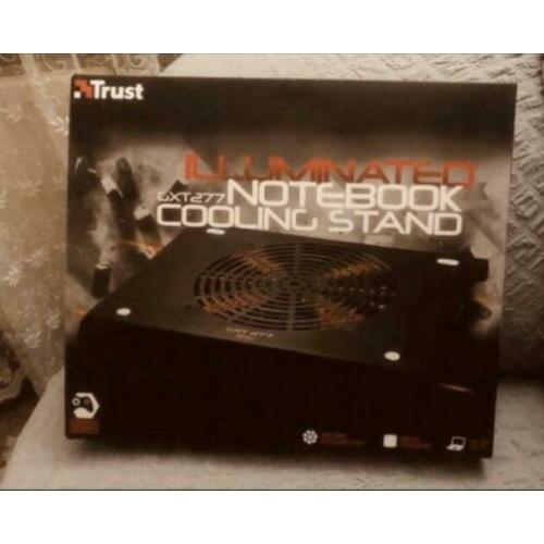 Trust illuminated notebook cooling stand GXT277