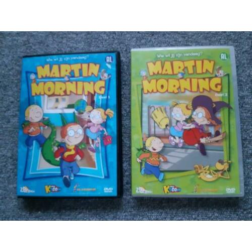 DVD Martin Morning - Deel 1 en 2