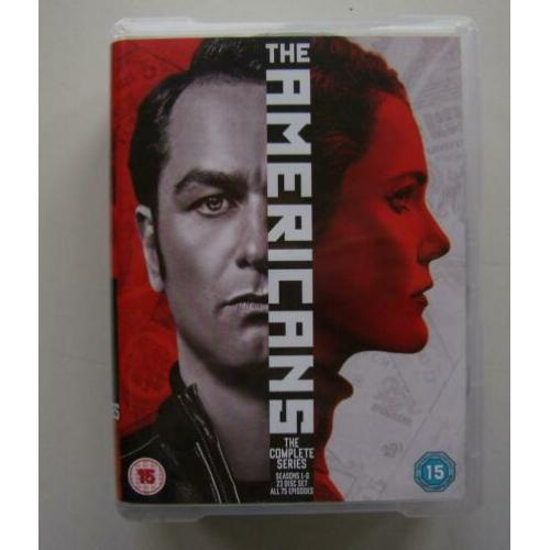 DVD The Americans The Complete 1-6 Series 23 DISC SET Import