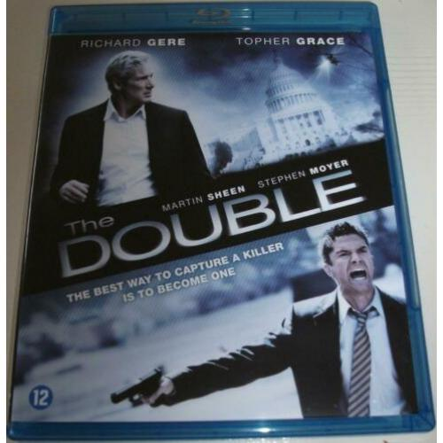 Dvd *** THE DOUBLE *** 2-Disc DVD + Blu-Ray Combopack